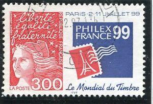 Collection Ici Timbre France Oblitere N° 3127 Philexfrance 99 / Photo Non Contractuelle Doux Et LéGer