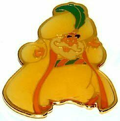 Disney Aladdin Cast Sultan Pin   eBay