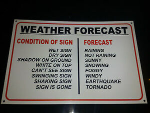 FUNNY-WEATHER-FORECAST-NOVELTY-SIGN-3-OPTIONS-birthday-christmas-present