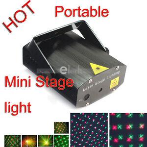 Mini-R-amp-G-Laser-Dance-DJ-Club-Party-Stage-Light-Lighting
