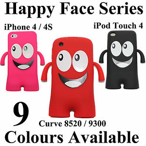 Happy-Face-series-Soft-Silicone-Skin-Case-Cover-With-Legs-amp-Hands-uHappy-iHappy