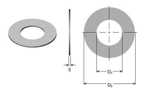 20x  Passscheiben 3 4 5 6 mm Stahl DIN988 Zentelscheiben Shimscheiben