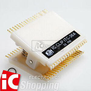 1x-ITC-36A-36PIN-IC-TEST-CLIPS-MADE-IN-TAIWAN