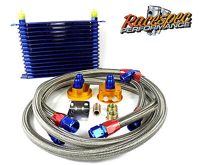 15 Row Oil Cooler Relocation Kit Subaru Impreza WRX STi Ra Legacy Forester Turbo