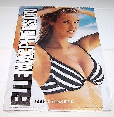 ELLE MACPHERSON - CALENDARIO VINTAGE SIGILLATO DEL 2000 - MINT !!!!