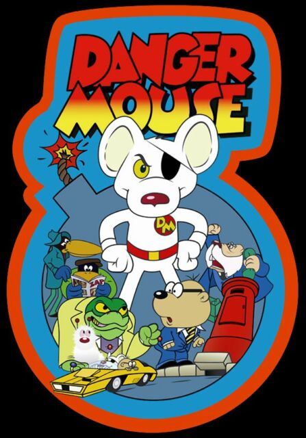80's Cartoon Classic Danger Mouse custom tee Any Size Any Color