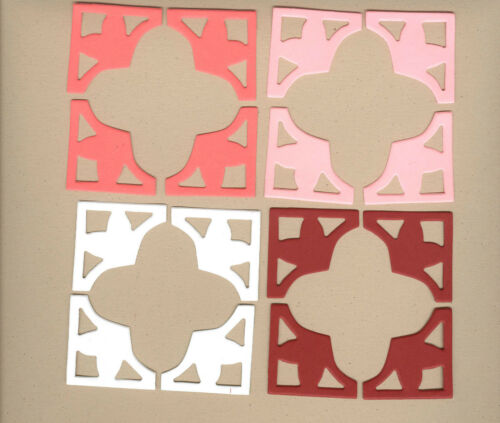 Your choice of colors on Mini Photo Corners-Hearts Die Cuts AccuCut