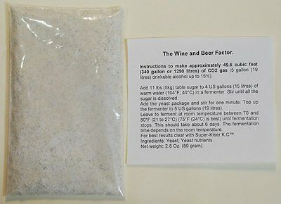 Make your own CO2 for your hydroponics plants or your terrarium with turbo yeast