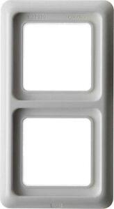 BERKER-132909-Frame-2-x-with-seal-IP44-polar-white-vertical-or-horizontal