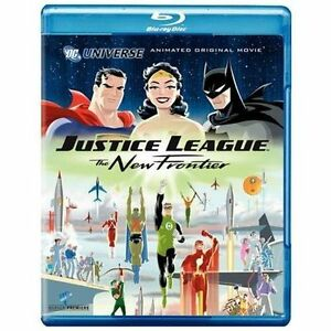 Justice-League-The-New-Frontier-Special-Edition-Blu-ray-Brand-New-Sealed