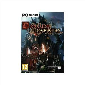 Details about Dracula: Love Kills (PC, 2011) Big Fish games, Rated T for  Teen