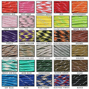 550-Reflective-Paracord-Parachute-Cord-Lanyard-8-Strand-Core-25ft-50ft-100ft