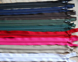 NYLON-OPEN-ENDED-ZIP-VARIOUS-SIZE-COLOUR-10-25-CM-34-86-CM-5-WEIGHT