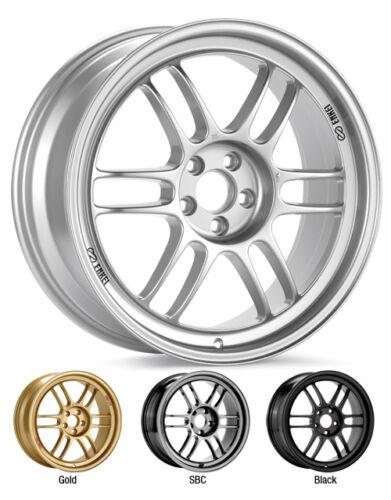 """ENKEI RPF1 18x9"""" Racing Wheel Wheels 5x114.3 ET35 F1 Silver"""