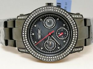 Womens-Ladies-King-Master-Joe-Rodeo-Jojo-Genuine-Diamond-Watch-2-0-Ct