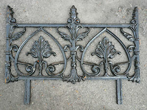 Nice Image Is Loading Recast Decorative Cast Iron Railing Garden Edging Gates