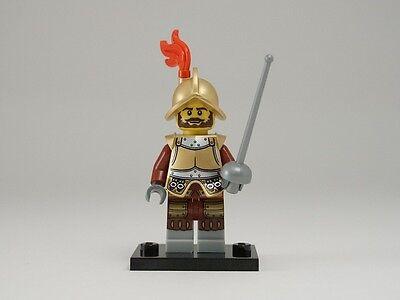 NEW LEGO MINIFIGURES SERIES 8 8833 - Conquistador