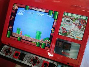 Nintendo Arcade Vs Red Tent Vinyl Injet Graphics Kit Super