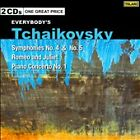 Everybody's Tchaikovsky: Symphonies Nos. 4 & 5; Romeo and Juliet; Piano Concerto No. 1 (CD, Sep-2008, 2 Discs, Telarc Distribution)