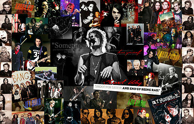 My Chemical Romance  Collage Poster