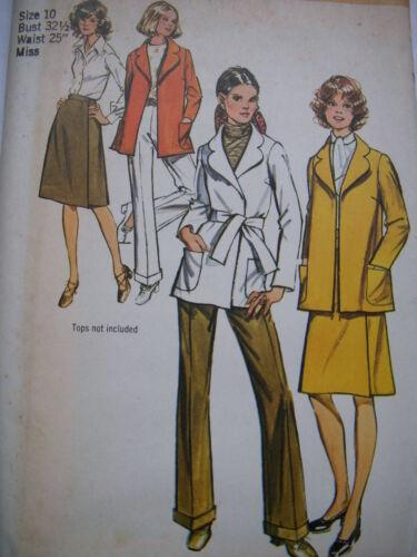U Pick Lot # 27 Vintage Sewing Pattern 60/'s-70/'s Dresses Skirts Jackets Pants