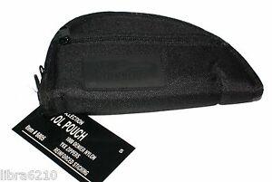 SM-7-Pistol-Hand-Gun-Rug-Case-Bag-Zippered-Pouch-Thick-Foam-Padding-BLACK-NEW