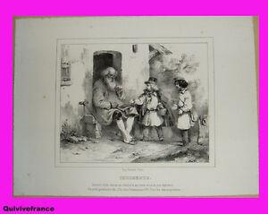 planche-lithographie-034-indigence-034-par-CHARLET