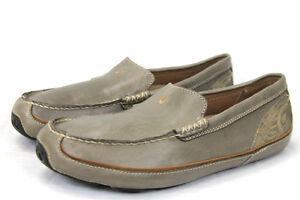 olukai lokahi leather all weather shoes slip ons olive