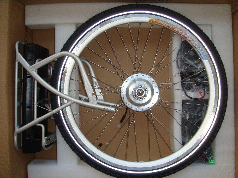 8fun ebike Kit De Conversión Bicicleta Eléctrica 36v 250w, 20    26  700c RUEDA