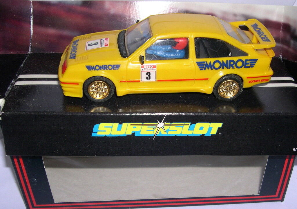 SUPERSLOT C031 FORD SIERRA RS COSWORTH  3 MONROE SCALEXTRIC UK MB
