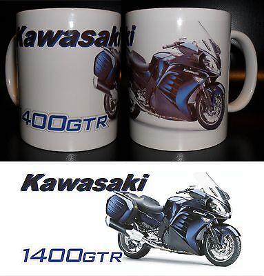 Motorrad Tasse / Mug Kawasaki GTR 1400 verschiedene Ausführungen!