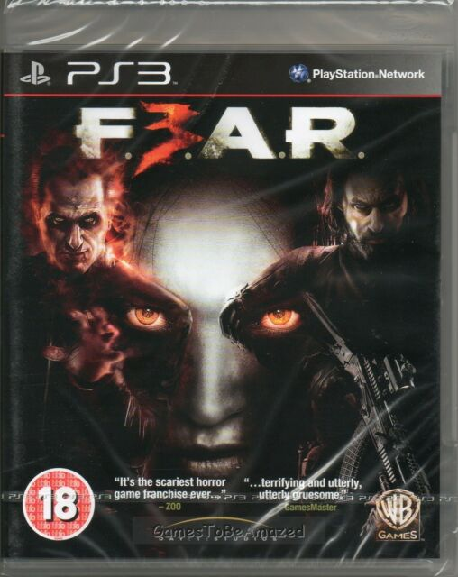 F.E.A.R. 3  GAME PS3 (fear) ~ NEW / SEALED