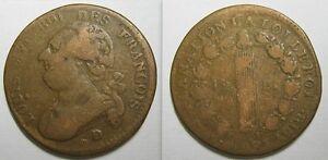 12-DENIERS-FRANCOIS-1792-D-CONSTITUTION-LOUIS-XVI