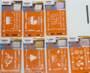 Cardboss-embossing-cardmaking-stencils-plastic-christmas-birthday-wedding-asst