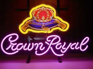 15-x11-Crown-Royal-Logo-Beer-Bar-Pub-Store-Display-Light-Neon-Sign-N13