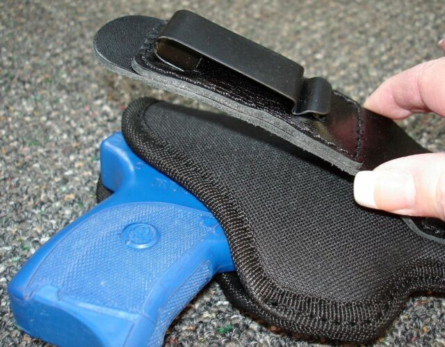 """INSIDE PANTS """"TUCK"""" TUCKABLE HOLSTER FOR SPRINGFIELD XD 3"""" 9 40 SUBCOMPACT IWB"""
