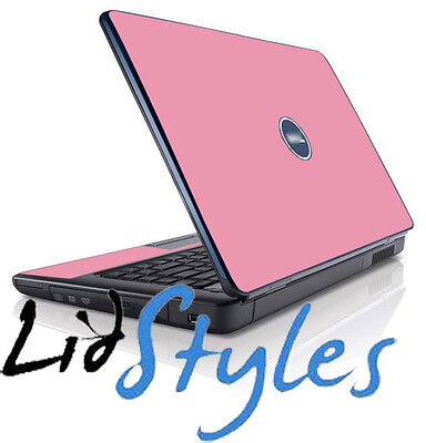 LidStyles PINK Vinyl Laptop Skin Decal Protector fits Dell Inspiron 1545