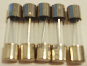 LOT-OF-5-NEW-F10AL250V-FUSES-10-A-250V-5mm-x-20mm