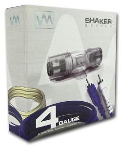 vm audio srsk4b 4 gauge ga car amplifier amp installation. Black Bedroom Furniture Sets. Home Design Ideas