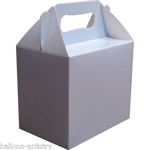 Birthday Wedding Party LIGHT BABY BLUE Paper Gift Lunch Boxes eBay