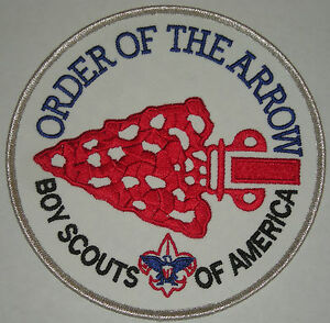 Order-of-the-Arrow-OA-Jacket-Patch-Back-Patch-Backpatch-Style-3-Arrow-MINT