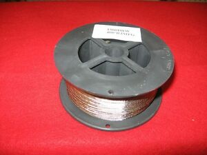 DOWNRIGGER WIRE STAINLESS STEEL BRAIDED 400FT 150#