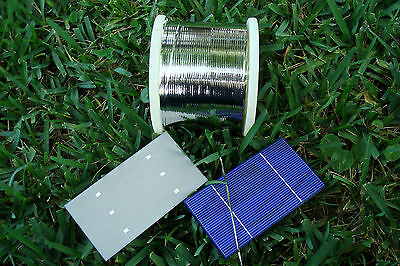 BEST Solar Cell 2mm Soldered Tab Wire for DIY Panel All ft. Free Shipping!!!