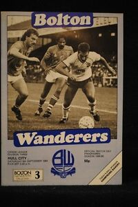 PROGRAMME-D3-Bolton-Wanderers-vs-Hull-City-6-May-1985