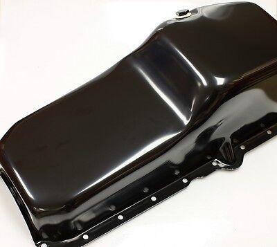 SBC CHEVY 1pcRMS PASSENGER SIDE DIPSTICK 5 QT QUART BLACK OIL PAN 86-UP # 9414-P