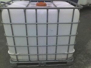 325 Gallon Liquid Storage Tank Tote Rain Barrel Storage Container