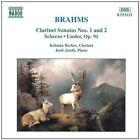 Johannes Brahms - Brahms: Clarinet Sonatas Nos. 1 & 2 (1997)