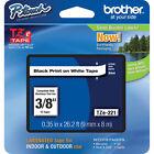 "Brother International Tze221 Label Tape - 0.38"" Width 1 Each"