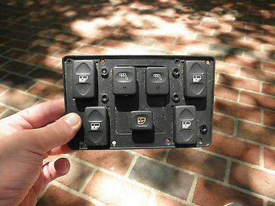 #5863 LAND ROVER DISCOVERY 99 OEM MASTER POWER WINDOW SWITCH CONTROL PANEL UNIT