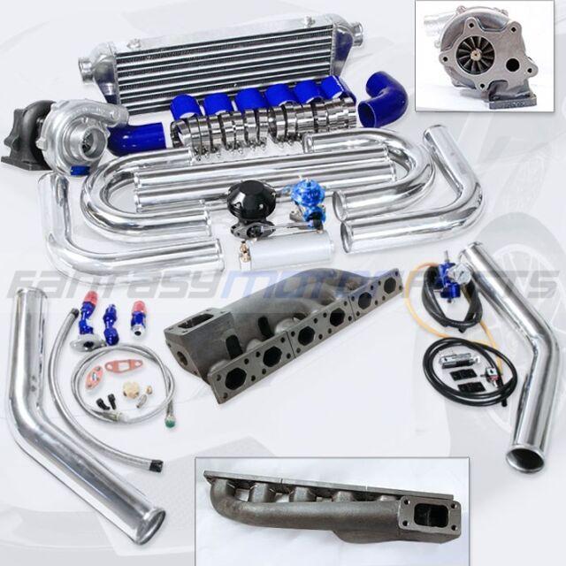 BMW E36 E46 V6 2.5L 2.8L 3.0L 3.2L M50 M52 S50 T3 T04E T3/T4 CAST IRON TURBO KIT